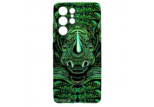Husa Samsung Galaxy S21 UItra LUXO TPU - Tribal Rhino