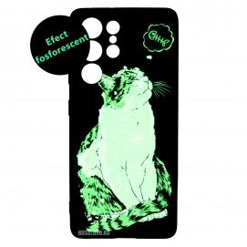Husa Samsung Galaxy S21 Ultra LUXO TPU - Cat & Fish
