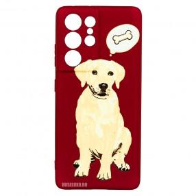 Husa Samsung Galaxy S21 Ultra LUXO TPU - Dog & Bone