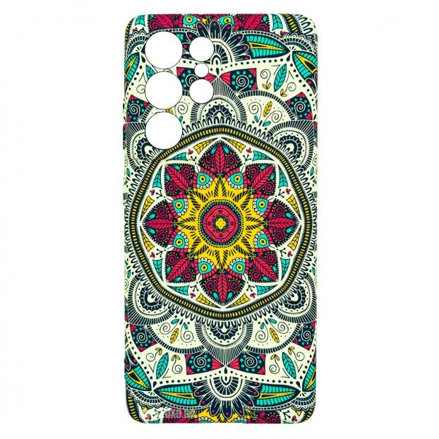 Husa Samsung Galaxy S21 Ultra LUXO TPU - Love Mandala