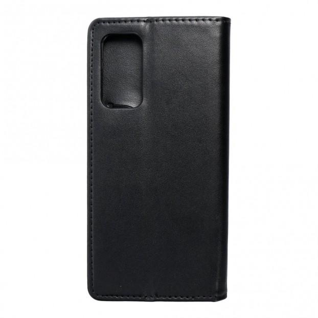 Husa tip carte Xiaomi Mi 10T 5G, model flip cover cu magnet, piele ecologica, negru