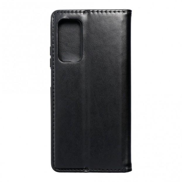 Husa tip carte Xiaomi Mi 10T Pro 5G, model flip cover cu magnet, piele ecologica, negru
