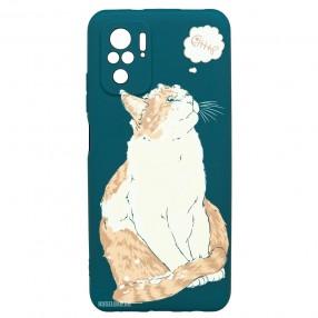 Husa Xiaomi Redmi Note 10 LUXO TPU - Cat & Fish