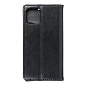Husa iPhone 11 Pro Magnet Case tip carte cu magnet, piele ecologica - negru