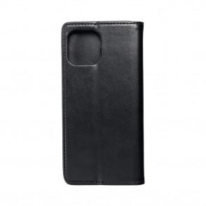 Husa iPhone 12 Pro Max Magnet Case tip carte cu magnet, piele ecologica - negru