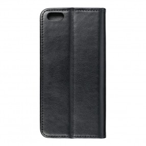 Husa iPhone 6 Plus Magnet Case tip carte cu magnet, piele ecologica - negru