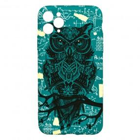 Husa iPhone 11 Pro Max LUXO TPU - Math Owl