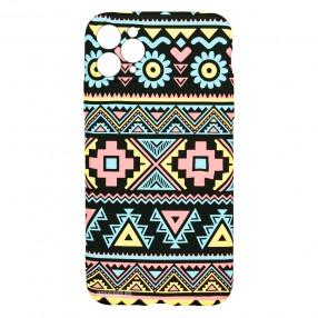 Husa iPhone 11 Pro Max LUXO TPU - Traditional Pattern