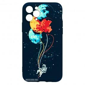 Husa iPhone 11 Pro LUXO TPU - Balloons or Planets