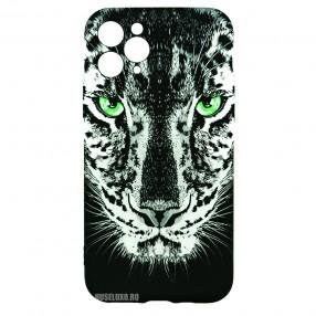 Husa iPhone 11 Pro LUXO TPU - Black Leopard