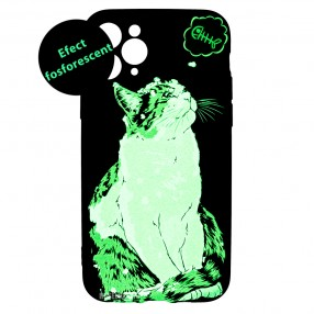 Husa iPhone 11 Pro LUXO TPU - Cat & Fish