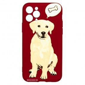 Husa iPhone 11 Pro LUXO TPU - Dog & Bone