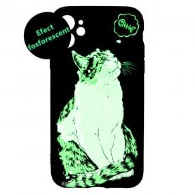 Husa iPhone 11 LUXO TPU - Cat & Fish