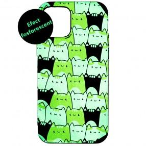 Husa iPhone 12 Pro LUXO TPU - Simply Cats