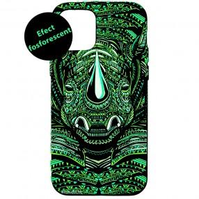 Husa iPhone 12 Pro LUXO TPU - Tribal Rhino