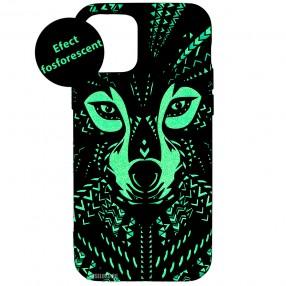 Husa iPhone 12 Pro LUXO TPU - Tribal Wolf