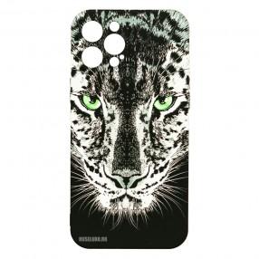 Husa iPhone 12 Pro MAX LUXO TPU - Black Leopard