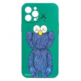 Husa iPhone 12 Pro MAX LUXO TPU - Blue Kaws