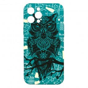 Husa iPhone 12 Pro MAX LUXO TPU - Math Owl