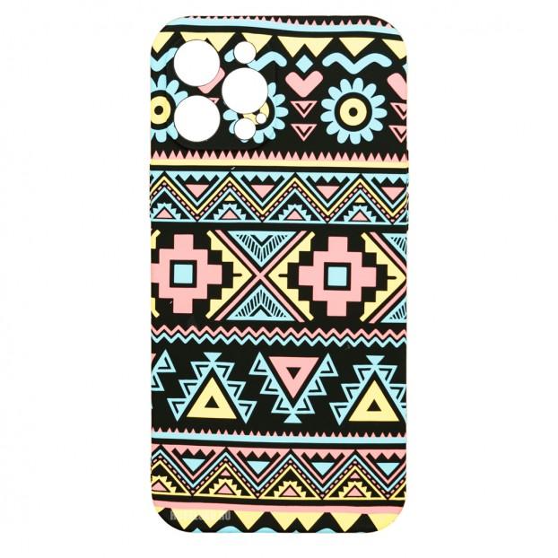 Husa iPhone 12 Pro MAX LUXO TPU - Traditional Pattern