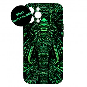 Husa iPhone 12 Pro MAX LUXO TPU - Tribal Elephant