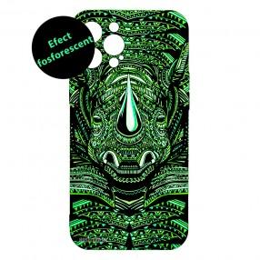 Husa iPhone 12 Pro MAX LUXO TPU - Tribal Rhino