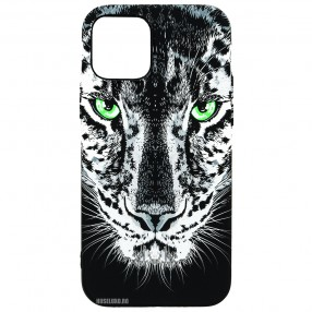 Husa iPhone 12 Pro LUXO TPU - Black Leopard
