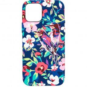 Husa iPhone 12 Pro LUXO TPU - Summer birds