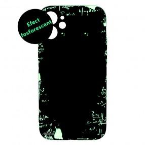 Husa Iphone 12 mini LUXO TPU - Math Owl