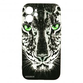 Husa iPhone 12 mini LUXO TPU - Black Leopard
