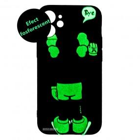 Husa iPhone 12 mini LUXO TPU - Bye Kaws