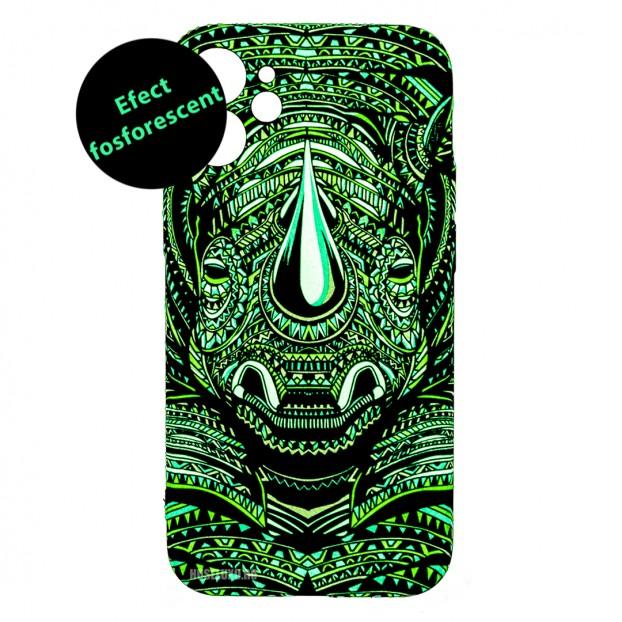 Husa iPhone 12 mini LUXO TPU - Tribal Rhino