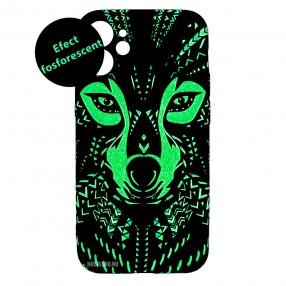 Husa iPhone 12 mini LUXO TPU - Tribal Wolf