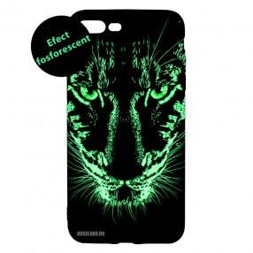 Husa iPhone 7+/8+ LUXO TPU - Black Leopard