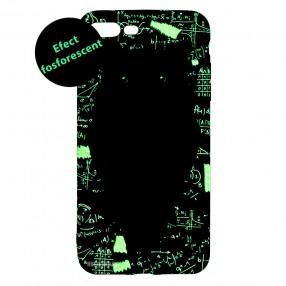 Husa iPhone 7+/8+ LUXO TPU - Math Owl