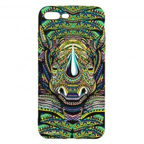 Husa iPhone 7+/8+ LUXO TPU - Tribal Rhino