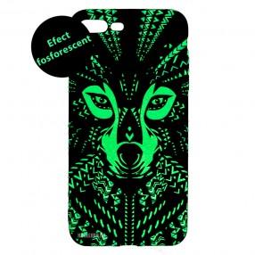 Husa iPhone 7+/8+ LUXO TPU - Tribal Wolf