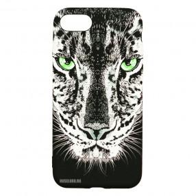 Husa iPhone 7/8/SE2 LUXO TPU - Black Leopard