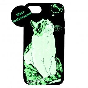 Husa iPhone 7/8/SE2 LUXO TPU - Cat & Fish