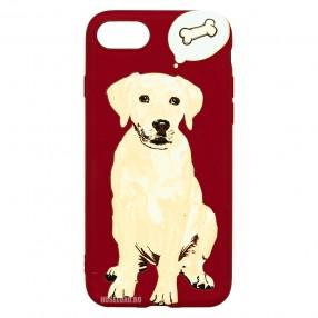 Husa iPhone 7/8/SE2 LUXO TPU - Dog & Bone