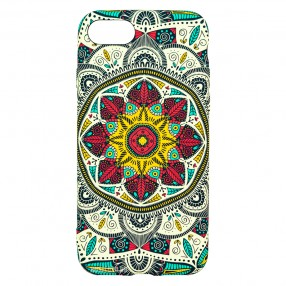 Husa iPhone 7/8/SE2 LUXO TPU - Love Mandala
