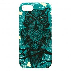 Husa iPhone 7/8/SE2 LUXO TPU - Math Owl