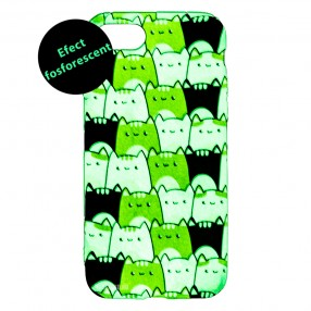 Husa iPhone 7/8/SE2 LUXO TPU - Simply Cats