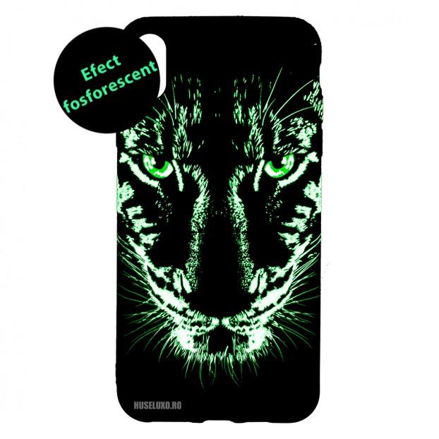 Husa IPhone X / XS LUXO TPU - Black Leopard