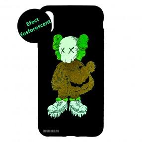 Husa IPhone X / XS LUXO TPU - Kaws