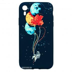 Husa IPhone XR LUXO TPU - Balloons or Planets