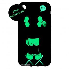 Husa IPhone XR LUXO TPU - Bye Kaws