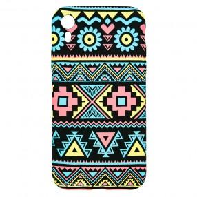 Husa IPhone XR LUXO TPU - Traditional Pattern