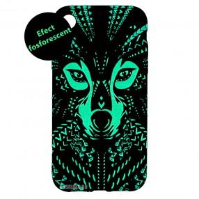 Husa IPhone XR LUXO TPU - Tribal Wolf