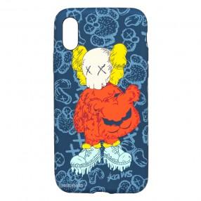 Husa IPhone XS MAX LUXO TPU - Kaws
